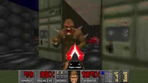 Doom (1993) - E3M3 Pandemonium 4K 60FPS