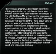 Revenant Codex Entry