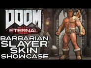 Doom Eternal - Barbarian Slayer Skin Showcase (Ancient Gods Part 2)