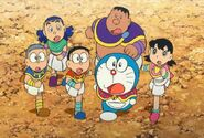 Dakke Nobita Doraemon Damulag Shizuka Takbo