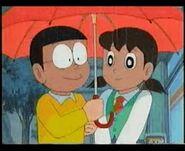 Shizuka at Nobita 1979