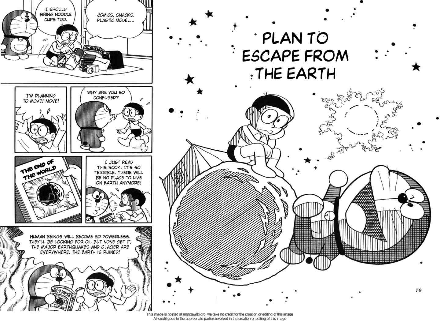 Chapter 9: Plan to Escape From The Earth