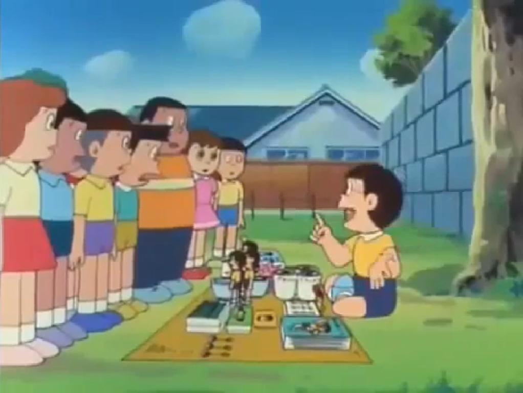 Doesn't Anyone Want a Nobita Merchandise?