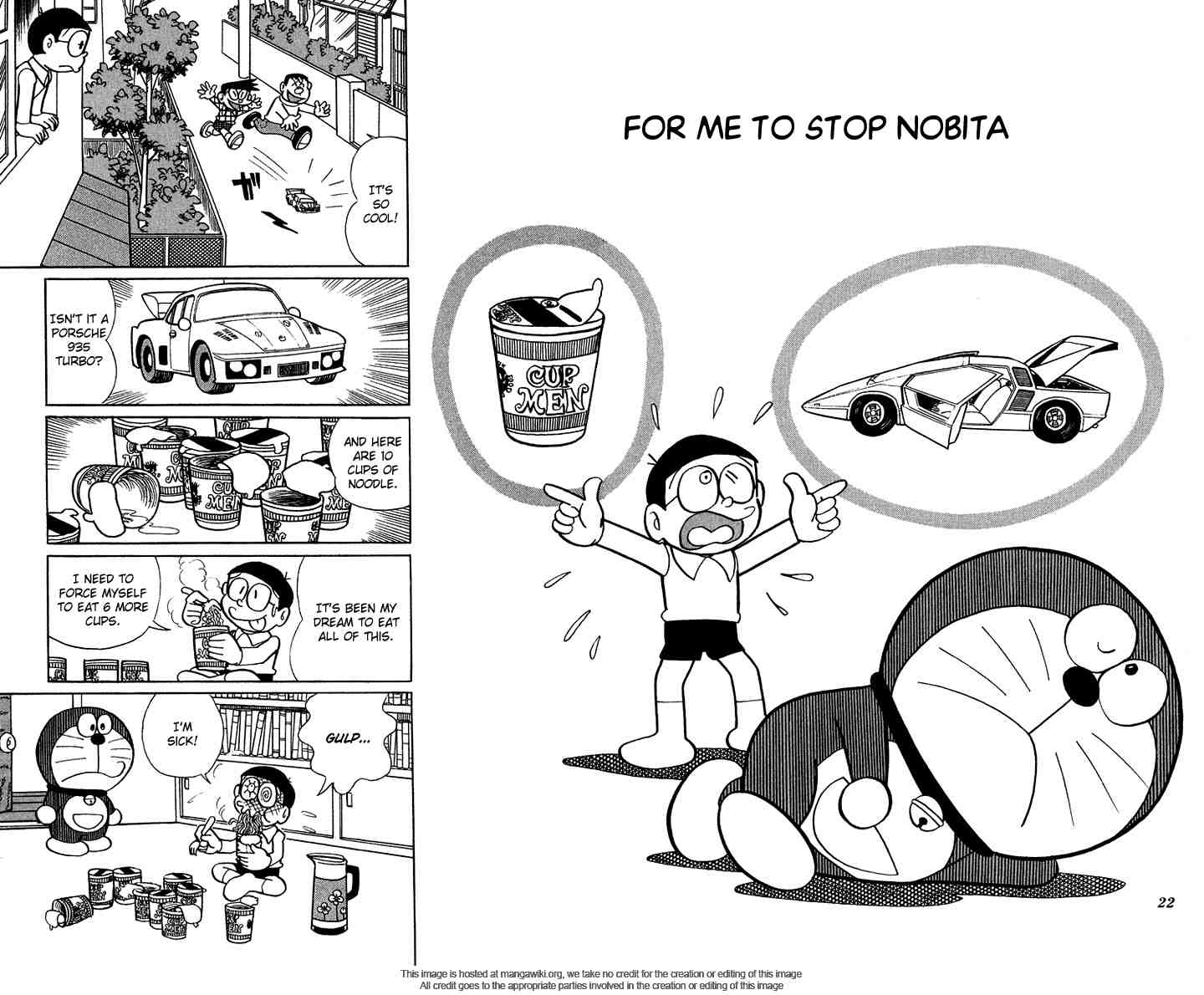 Chapter 3: For Me To Stop Nobita