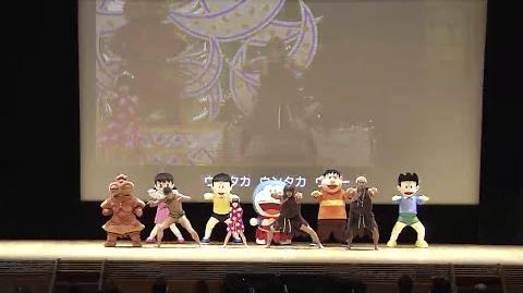 [新・のび太の日本誕生]完成披露試写会「ウンタカダンス」