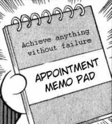 Appointment Memo Pad