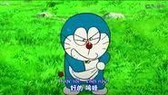 Doraemon Evil Face
