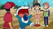 Nobita Doraemon Shizuka Kuruto Fishing pagong