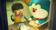 Nobita eats Copying Toast
