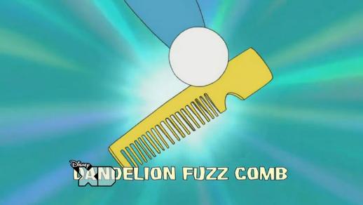 Dandelion Fuzz Comb
