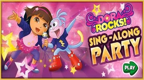 Dora The Explorer Dora's Rock Sing-Along Game Full HD