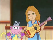 Boots and music teacher