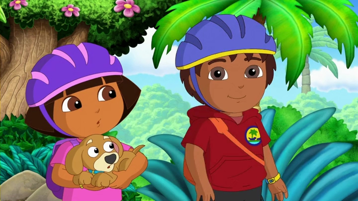 Dora & Perrito to the Rescue