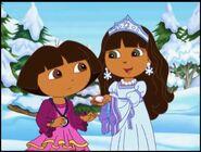 Dora The Explorer Dora saves the snow princess dora and snow princess 43234