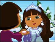 Dora the explorer dora and snow princess 234342