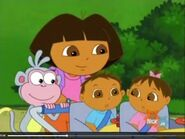Dora Boots and the babies