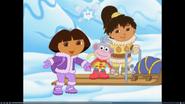 Dora snow fairy paj boots 324342243