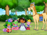 Dora's Royal Rescue