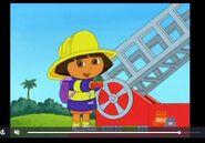 Dora The Explorer Firefighter Dora