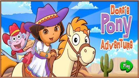 Dora The Explorer Dora's Pony Adventure Game Full HD