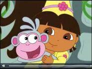 Dora The Explorer Princess Dora saves Boots