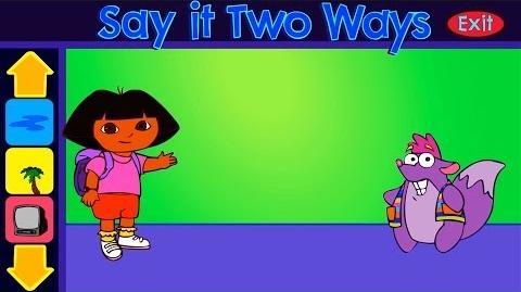 Dora The Explorer Say It Two Ways Full HD