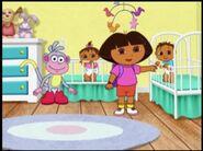 Dora th explorer dora babies and boots