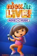 See Dora the Explorer in Nick Jr LIVE!