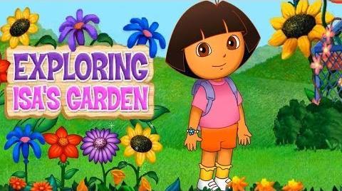 Dora The Explorer Exploring Isas Garden Full HD