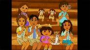 Dora and Daisy's cameo