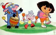 Dora-Benny-holiday