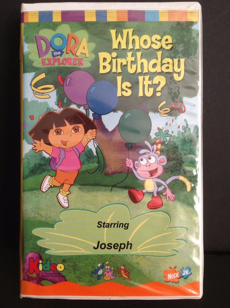 Whose Birthday is It? (Kideo VHS and DVD)