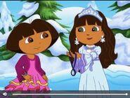 Dora The Explorer and Snow Princess 432432