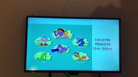 Dora the Explorer Credits School Pet
