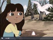 Dora The Explorer Dora Saves The Snow Princess Sabrina