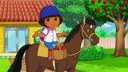 Dora and sparky