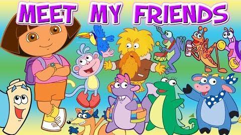 Dora The Explorer Dora's Meet My Friends Full HD