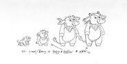 Dora-Benny-ages-production-sketch