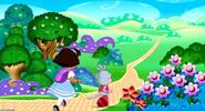 Dora and boots love in dora wonderland