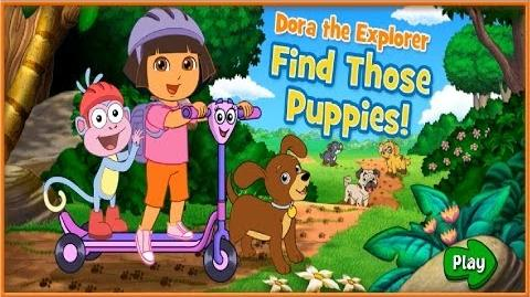 Dora The Explorer Find Those Puppies Full HD