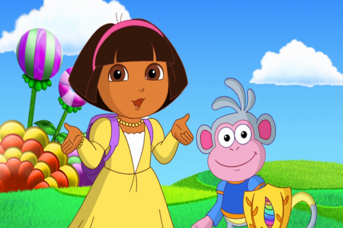 Dora Saves Fairytale Land