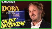 "DORA AND THE LOST CITY OF GOLD James Bobin ""Director"" On-set Interview"