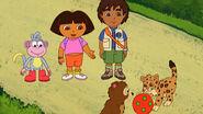 Dora Diego Boots Baby Bear and Baby Jagaur
