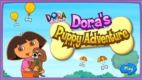Dora The Explorer Dora's Puppy Adventure Full HD