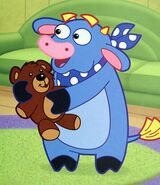 Dora-Benny-teddy-bear