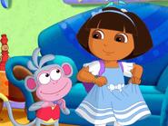 Dora Blue Dress (Wonderland)