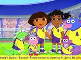 Dora's Super Soccer Showdown