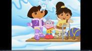 Dora snow fairy paj boots