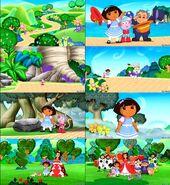 Dora the Explorer Dora in wonderland screenshot