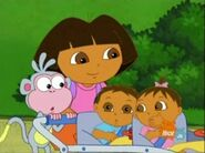 Dora The Explorer babies 4356